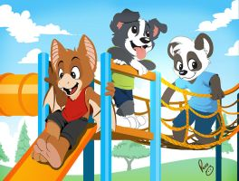 Happy cub's day!! by pandapaco