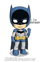 Little Batman by shamserg