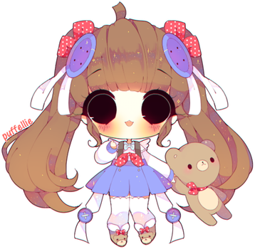 Beary lovely by puffellie