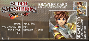 SSB Brawl Card by JBCBlank