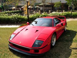 Ferrari F40 at the Mall by AndySerrano