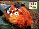 SOLD!!! RECYCLED CLOTHING TBL red panda by TouchedbyLavender