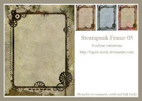 274 Steampunkframe 05 by Tigers-stock
