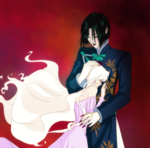 Count D and Lady Amaltheya by clovercarmen5