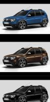 Dacia Duster-front view by EDL by EDLdesign