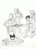 teen titans gift by Avatar67