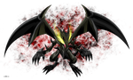 Red eyes Black Dragon by Razor-Zyrak
