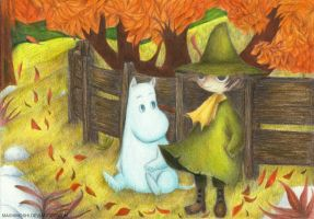 Moomin - Autumn days by Mashimoshi