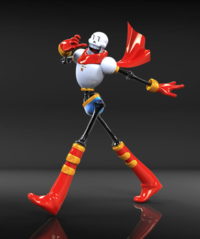 MMD SN-SDver Papyrus 3d Model DL by 495557939
