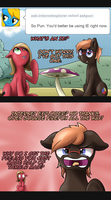 Pun Pony Comic: What's an I.E.? by EROCKERTORRES