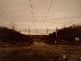 Paysage electrique by Alaykael