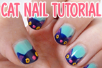 Cat Nail Art Tutorial DIY by ponychops