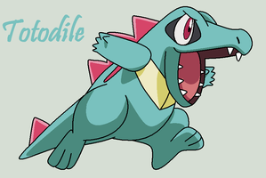 Totodile by Roky320