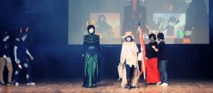 HOMESTUCK trolls cosplay defile (video) by signore-illusionista