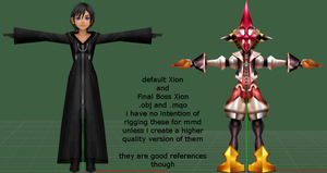 .obj and .mqo Xion Models by 0-0-Alice-0-0