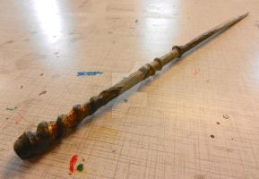 home made wand by ColorPixie