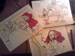 Little Red Ridding Hood by Black-Curls