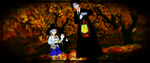 eine Familie halloween by Autumn-Lavelle