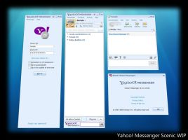 Yahoo Messenger Scenic WIP by counteralchemist