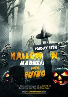 Halloween Madness - Flyer by VectorMediaGR