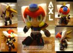 Commission- Axl V2 by eERIechan