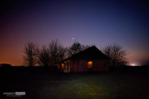 Light the abandoned house by NorbertKocsis
