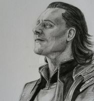 Loki of Asgard -Drawing by tofu0004
