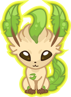 Summer 10_11 Leafeon by PiNkOpHiLiC