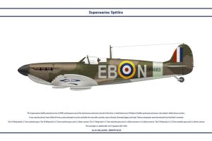 Spitfire Mk I GB 41 Sqn by WS-Clave