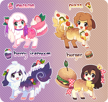 (SOLD!) Flufferbun Auction Adoptables!!! by Miizue