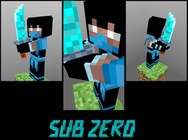 SubZero in Minecraft by GhosT-Player