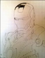 Iron Man Drawing Animation by Paul-Shanghai