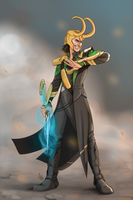 Loki by Cpaek