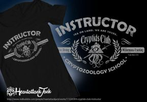 Cryptids Club Instructor by Heartattackjack