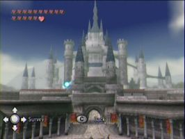 TP Hyrule Castle Daytime by ChibiRed