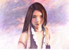 Final Fantasy X-2: Lenne by AngelicHueng