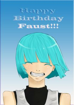 Happy birthday faust by gloomybear16
