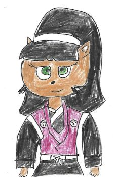 Kitty Katswell as Tomoe by dth1971
