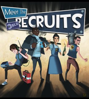 TF2 Update: Meet the BLU Recruits by napalmzonde