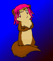 Bathier The Brown Mongoose by Nukeleer