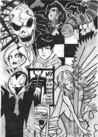 Gerard's Art - b+w by sacrificingsanity