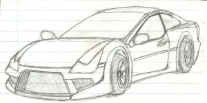 Proton Coupe Concept a.k.a Putra by Fizzle-Knight