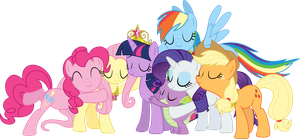 Group Hug Vector by Deathirst
