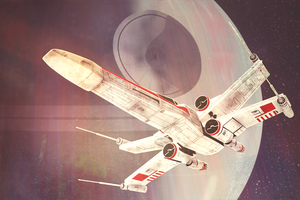 X-wing by Sarah-in-a-bonnet