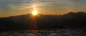 Tatra sunset by MorgaineAnne