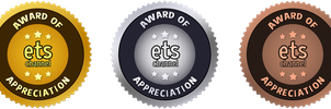 ETS Medals of Appreciation by ETSChannel
