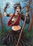 Morrigan: Witch of the Wilds by AmyClark