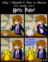 Why I Shouldn't Star in Movies : Harry Potter by kcday