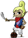 Wind Waker - Tetra by Undead-Niklos