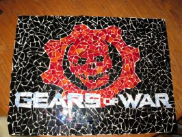 gears of war mosaic by FloppyTy